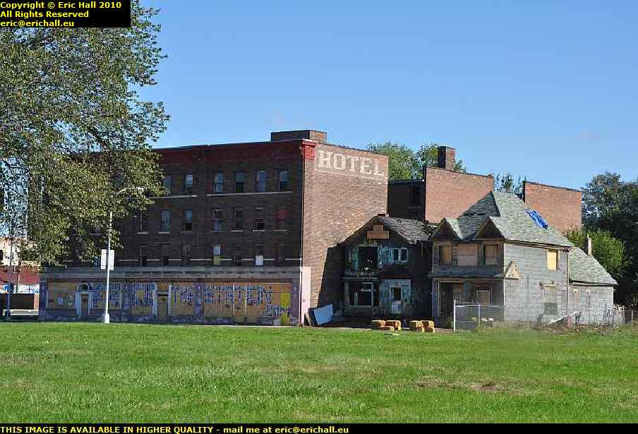 dereliction and decay detroit michigan usa