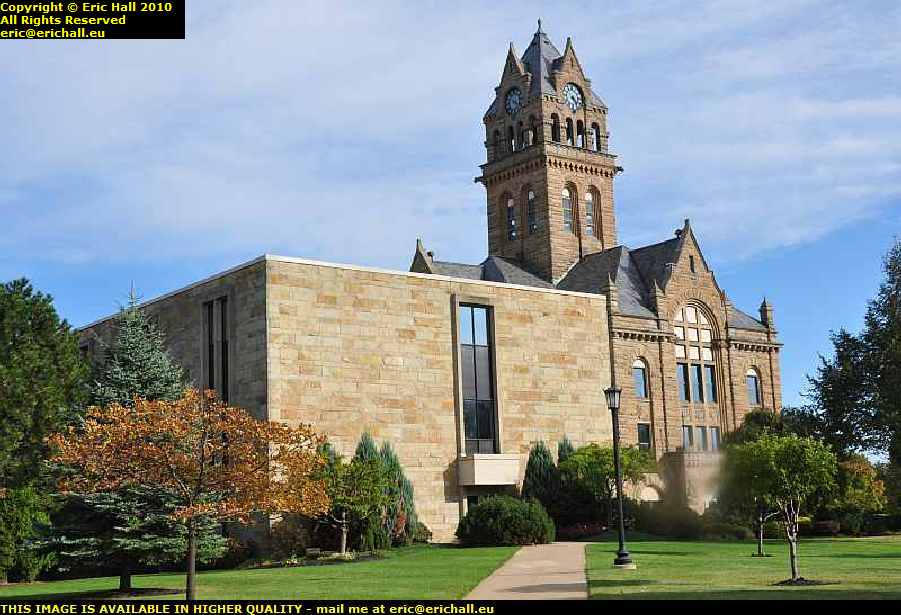 port clinton county court house ohio usa