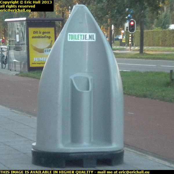 public urinal Breda Netherlands