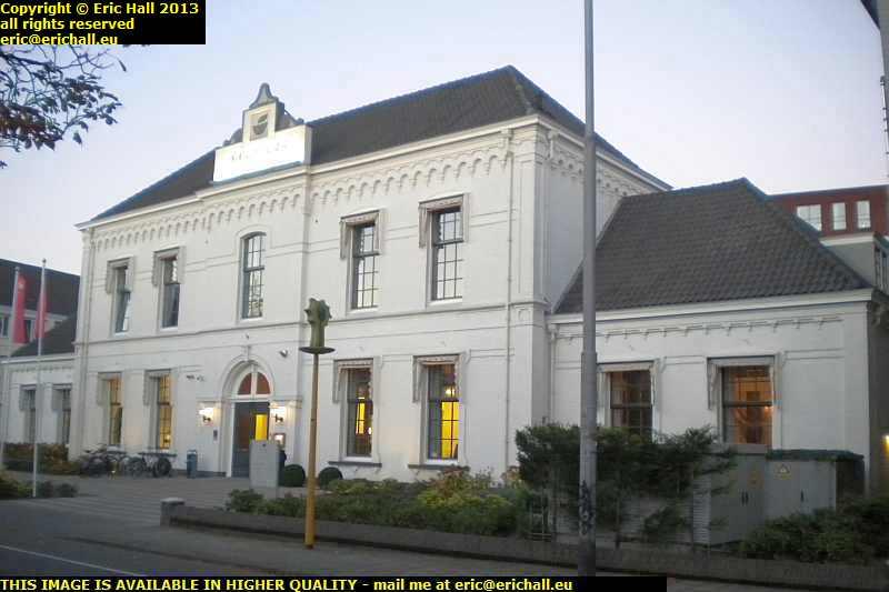 historic building medieval centre breda netherlands