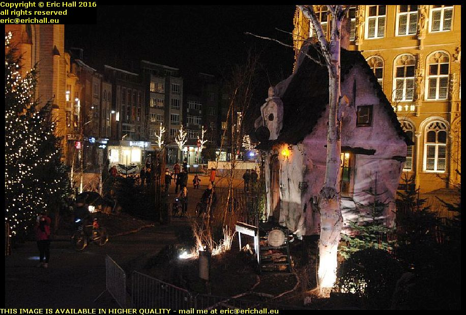 city lights christmas eve leuven belgium december decembre 2016