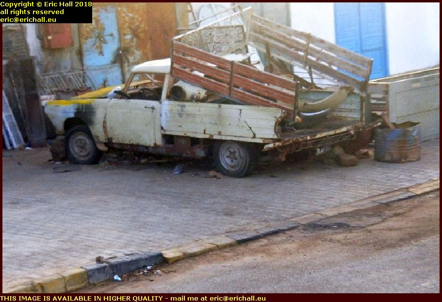 old cars peugeout 404 pickup douz tunisia africa