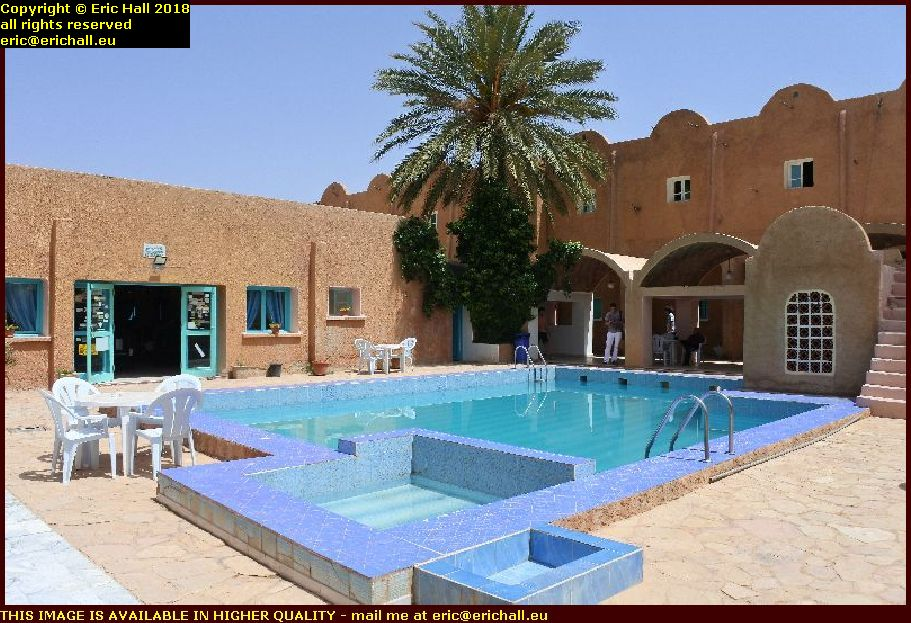 lunch stop hotel matmata tunisia africa