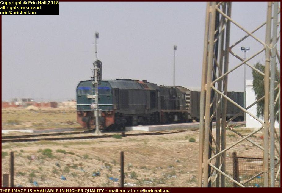 sncft metre gauge bombardier MX624 general electric gabès tunisia