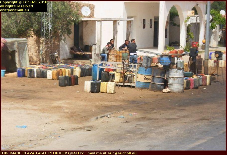 illicit fuel sales gabès tunisia africa