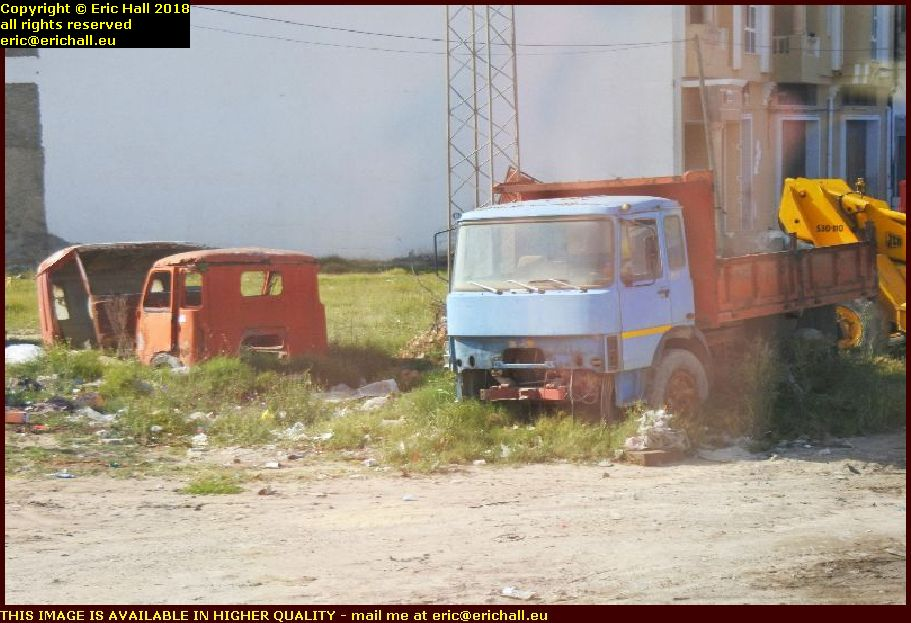 old cars IVECO OM el djem tunisia africa
