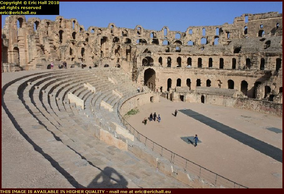 popular front of judea colosseum el djem amphitheatre tunisia africa