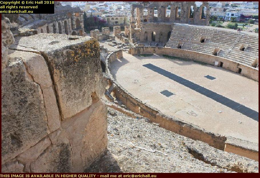 colosseum el djem amphitheatre tunisia africa