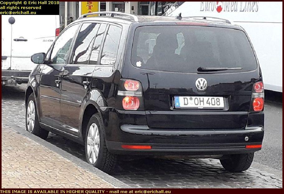 homer simpson car volkswagen beetle belgium AUGUST AOUT 2018
