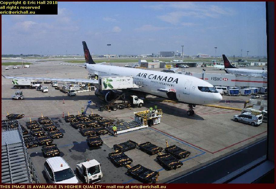 air canada airbus 330-300 c-GFAF pierre l trudeau airport montreal canada august aout 2018