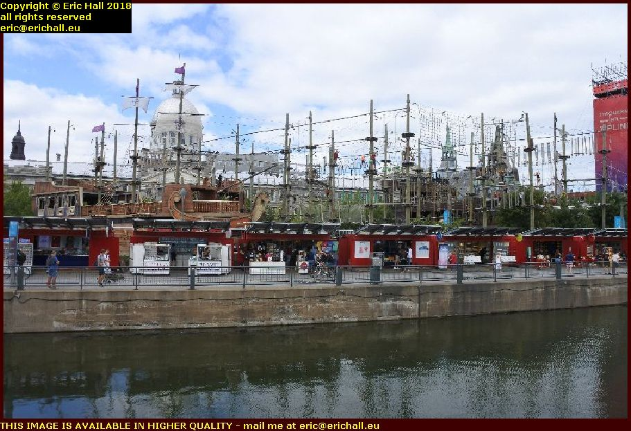 kids pirate ships port de montreal harbour canada august aout 2018