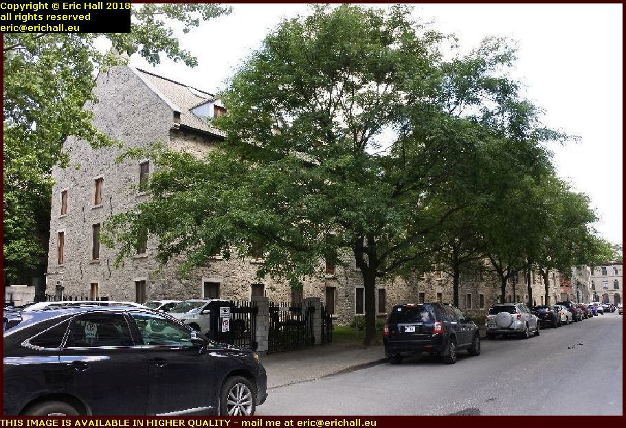 ursulines place d'youville montreal canada august aout 2018