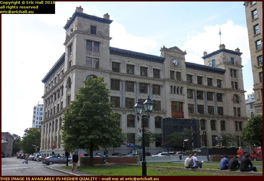 grand trunk building rue mgcill montreal canada august aout 2018