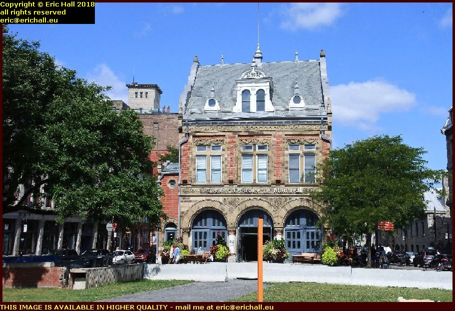 fire station place d'youville montreal canada august aout 2018