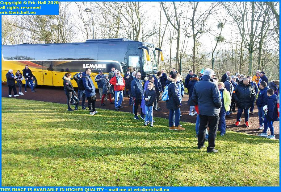 us granvillaise football supporters  granville manche normandy fc versailles 78 Stade de Montbauron, Versailles france eric hall