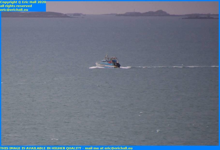 trawler english channel ile de chausey granville manche normandy france eric hall