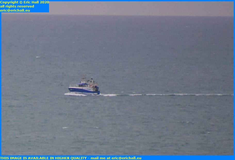 trawler english channel granville manche normandy france eric hall