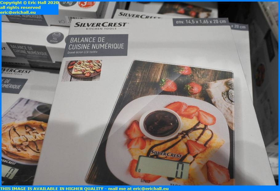 scales for digital kitchen lidl avenue aristide briand granville manche normandy france eric hall