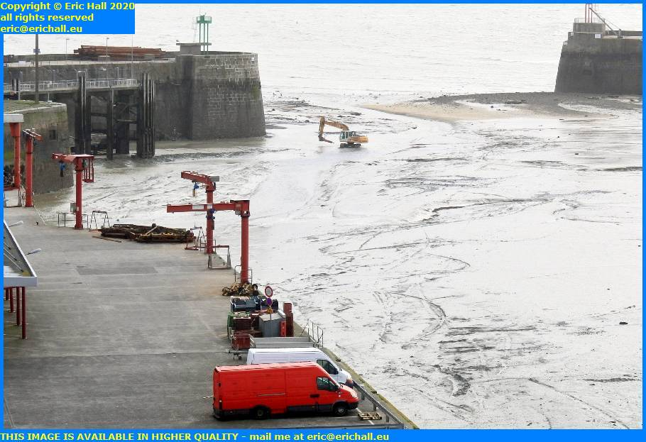 digger ferry terminal port de granville harbour manche normandy france eric hall