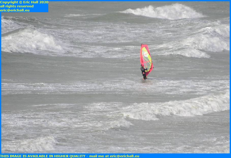windsurfer place d'armes granville manche normandy france eric hall
