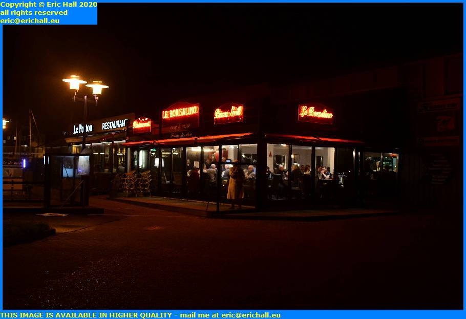 borsalino ponton restaurants port de granville harbour manche normandy france eric hall