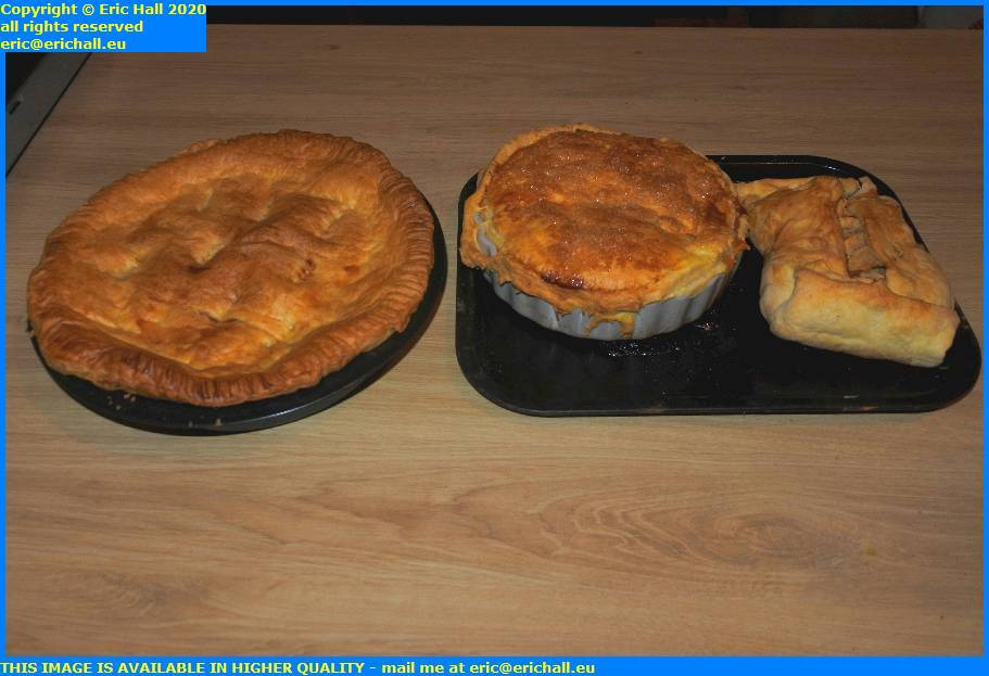 lentil tofu pie apple turnover apple pie granville manche normandy france eric hall