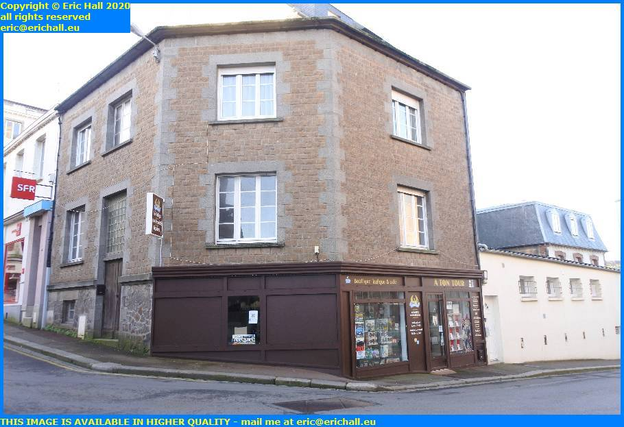 boutique ludique cafe boulevard d'Hauteserve granville manche normandy france eric hall