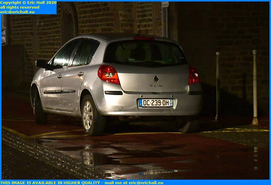 bad parking place d'armes granville manche normandy france eric hall