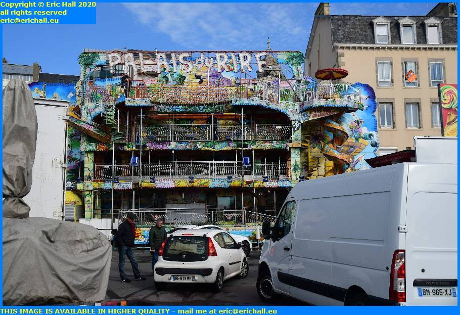 palais du rire funfair fete foraine parking herel carnaval granville manche normandy france eric hall