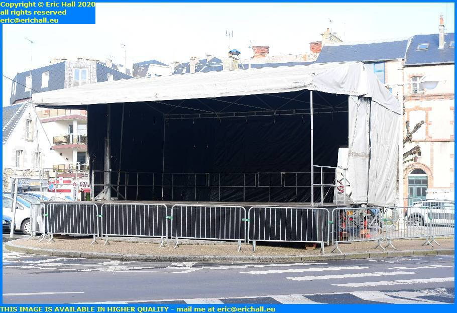 entertainment stage place general de gaulle granville manche normandy france eric hall