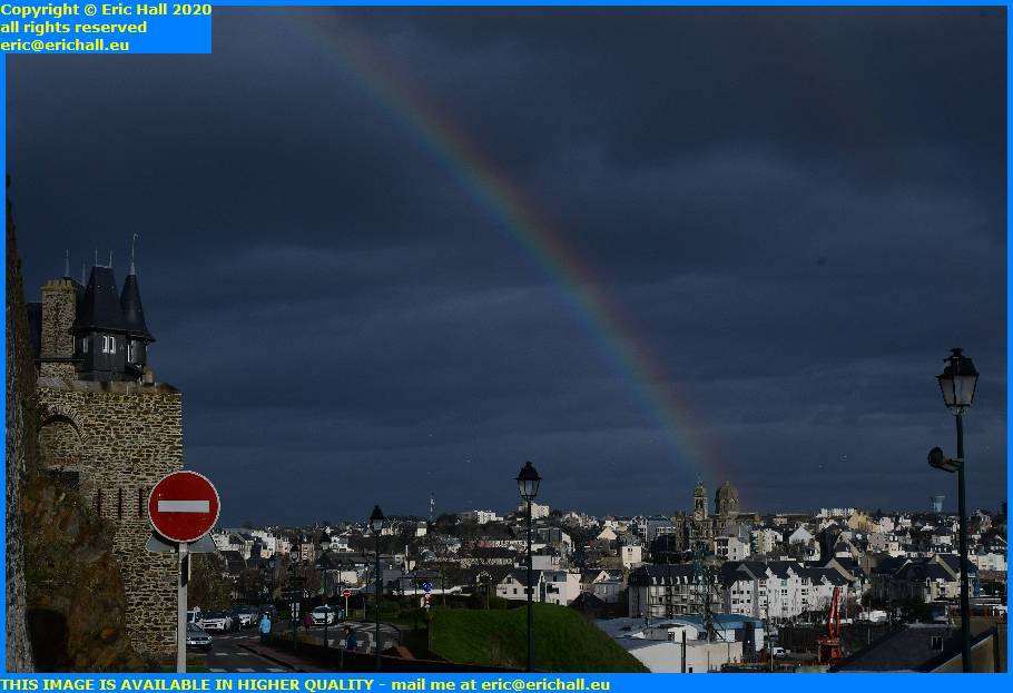 rainbow granville manche normandy france eric hall