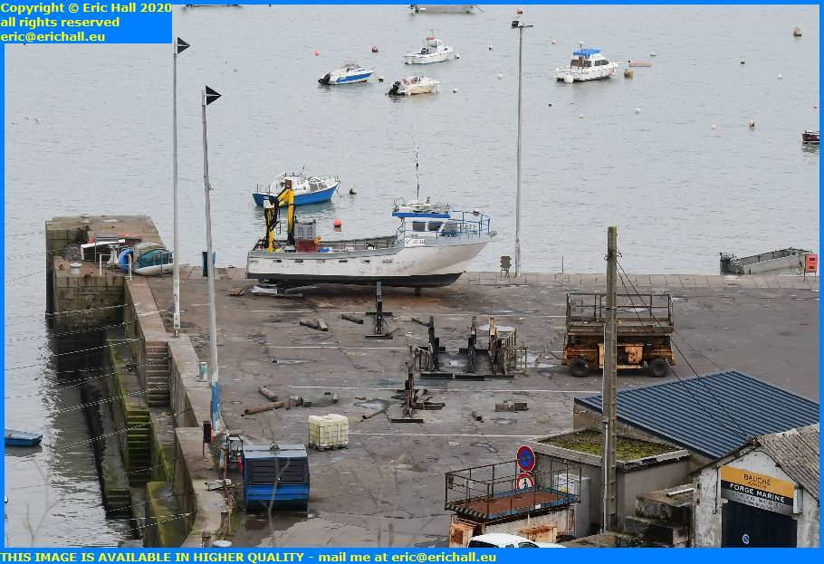 chantier navale port de granville harbour manche normandy france eric hall
