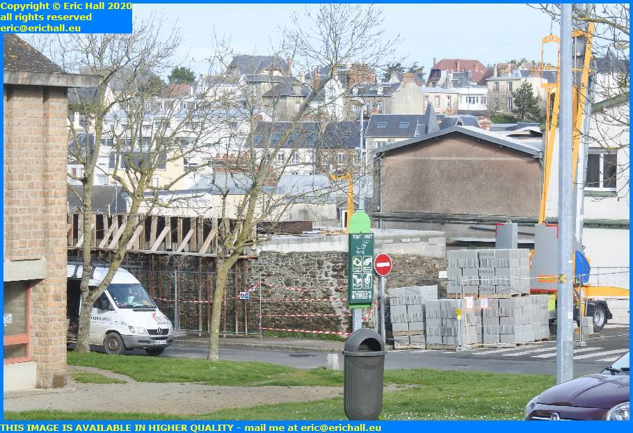 building work impasse de la corderie granville manche normandy france eric hall
