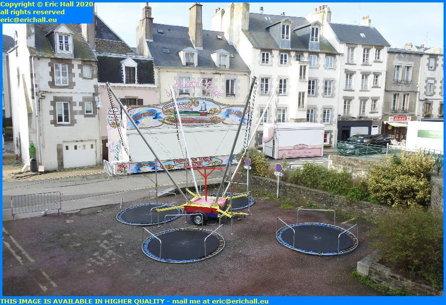 fairground kiddies corner fete foraine parking rue saint sauveur granville manche normandy france eric hall