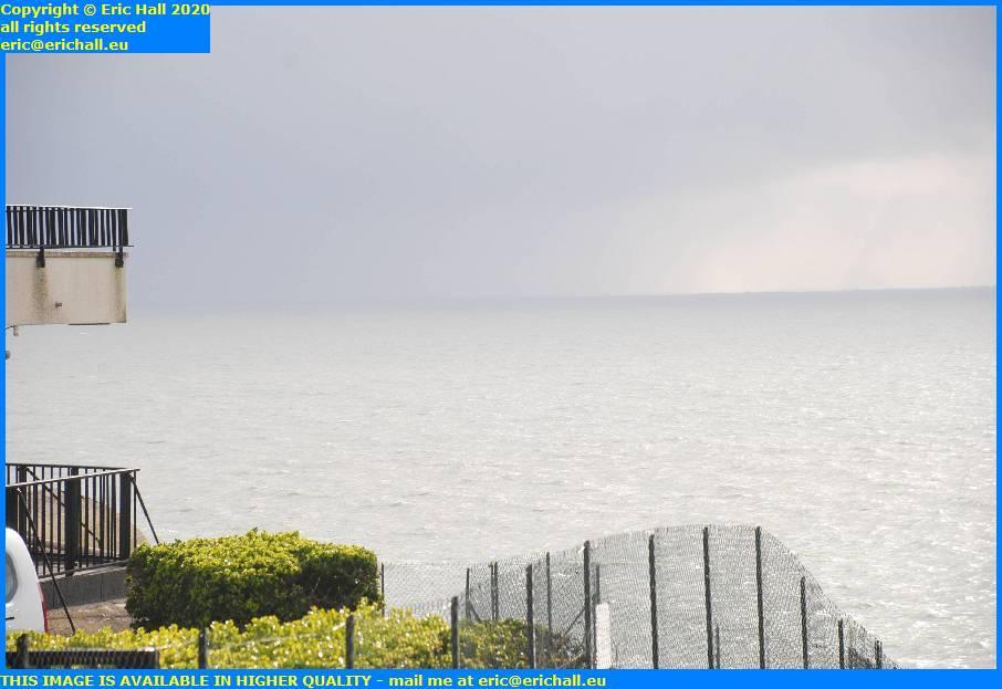 storm baie de mont st michel brittany coast granville manche normandy france eric hall