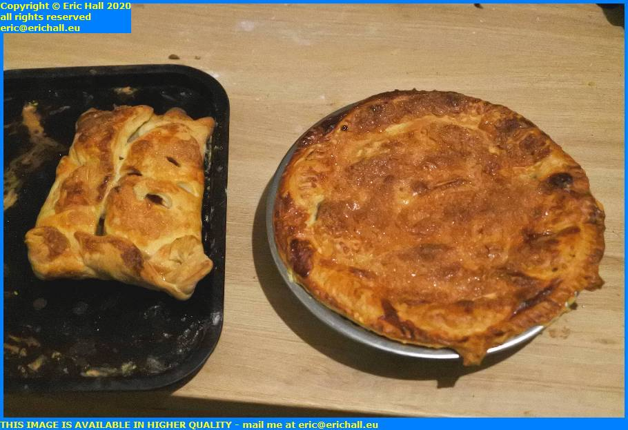 apple turnover apple pie place d'armes granville manche normandy france eric hall