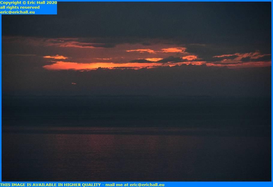 sunset english channel baie de mont st michel granville manche normandy france eric hall