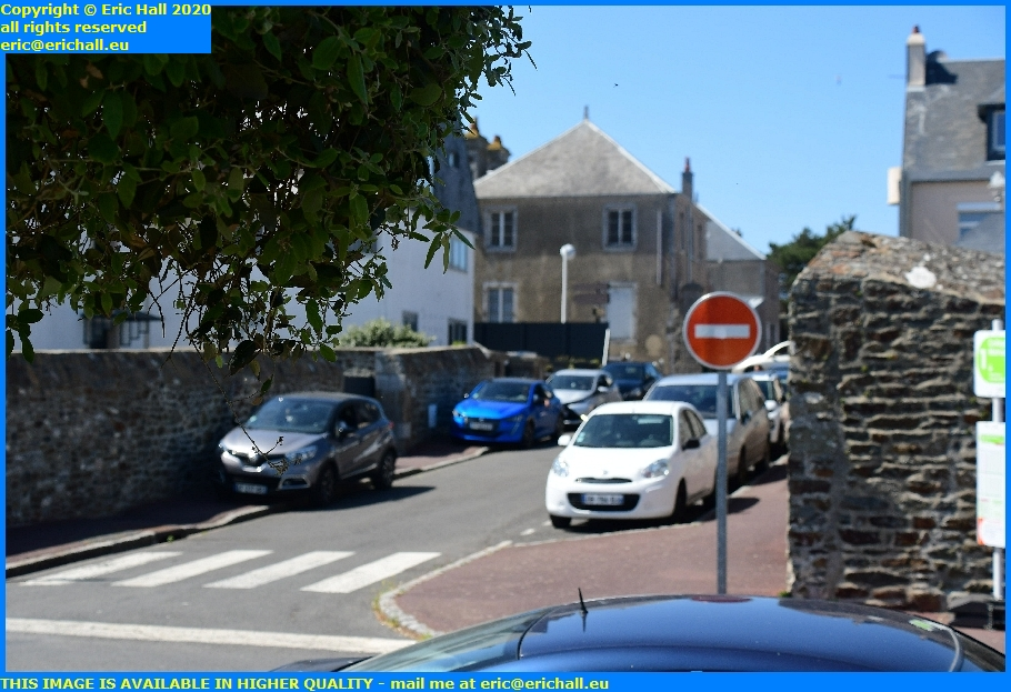 bad parking college malraux granville manche normandy france eric hall