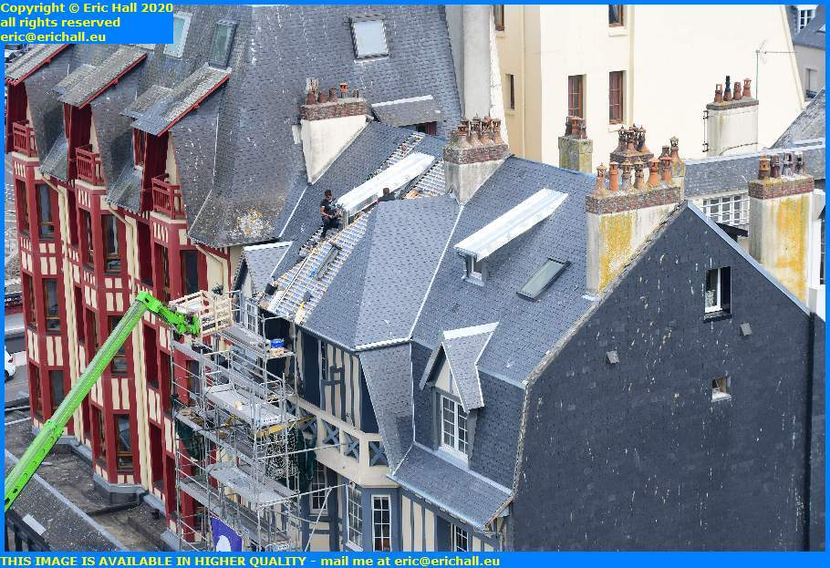 roofing place marechal fochgranville manche normandy france eric hall
