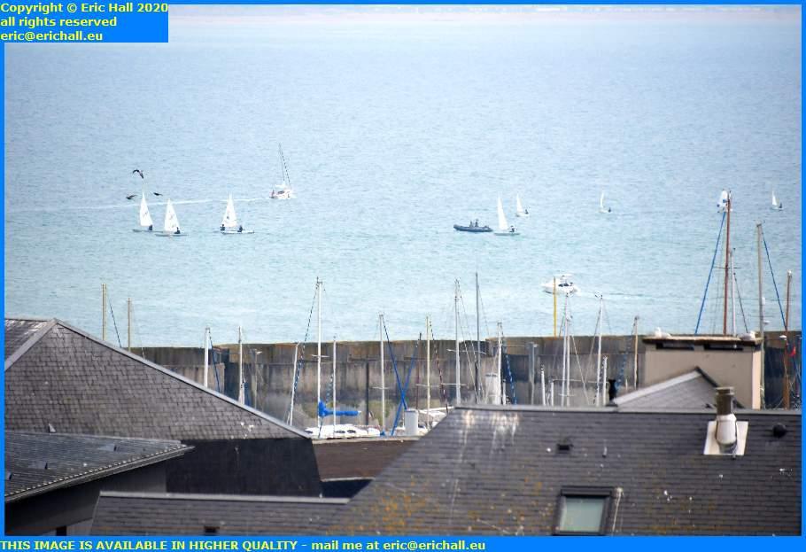 yachts sailing school baie de mont st michel granville manche normandy france eric hall