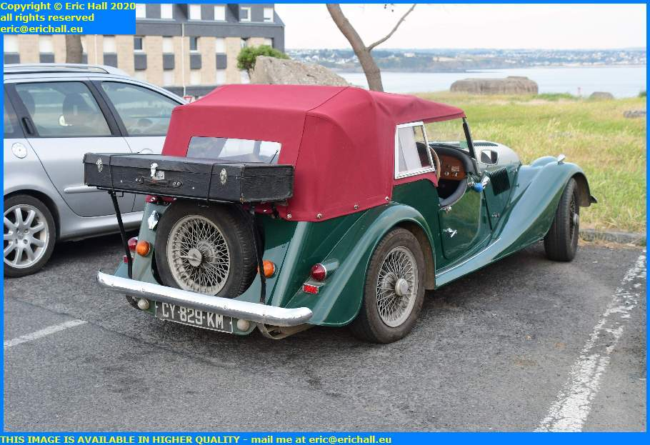 old cars 1985 morgan pointe du roc granville manche normandy france eric hall