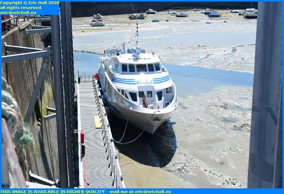 joly france ferry terminal port de granville harbour manche normandy france eric hall