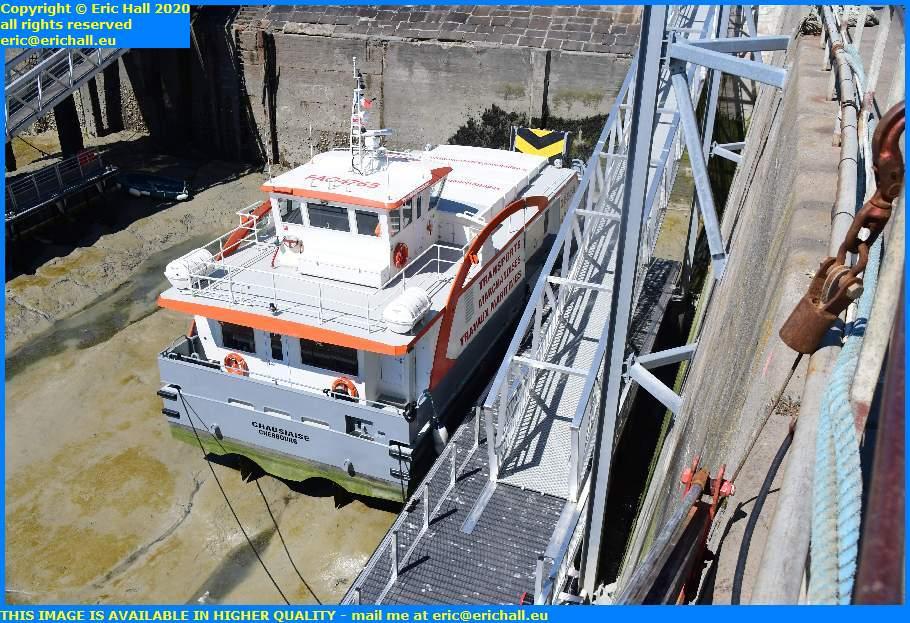 chausiais ferry terminal port de granville harbour manche normandy france eric hall