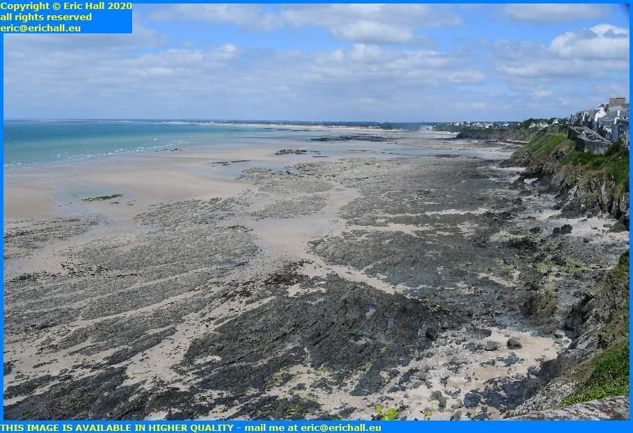 low tide plat gousset granville manche normandy france eric hall