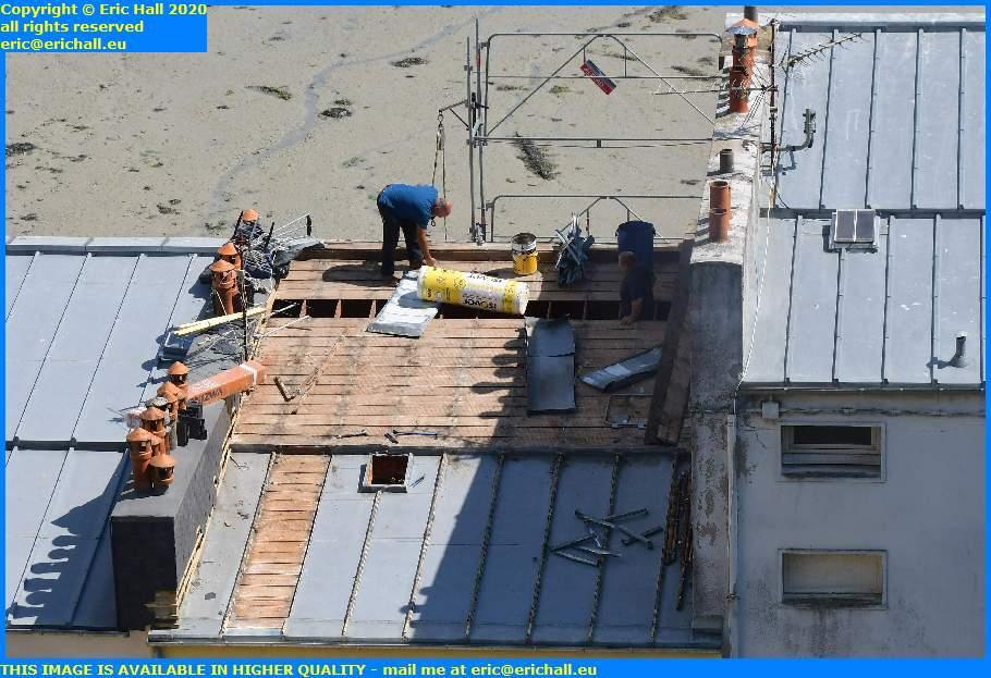 roofing rue du port granville manche normandy france eric hall