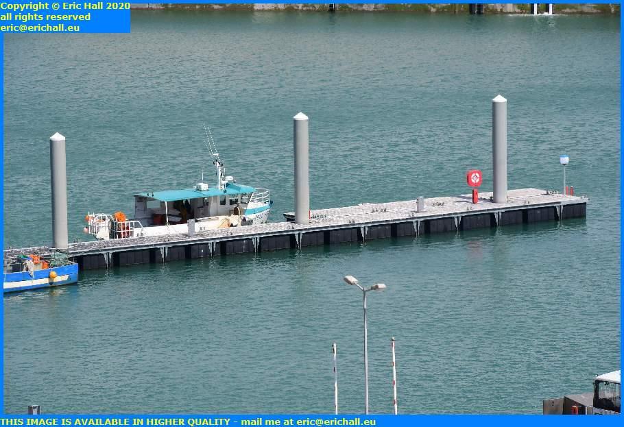 lifebelt new pontoon port de granville harbour manche normandy france eric hall