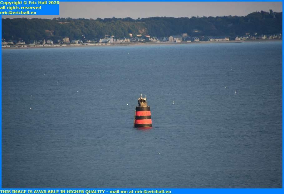 le loup marker light port de granville harbour manche normandy france eric hall