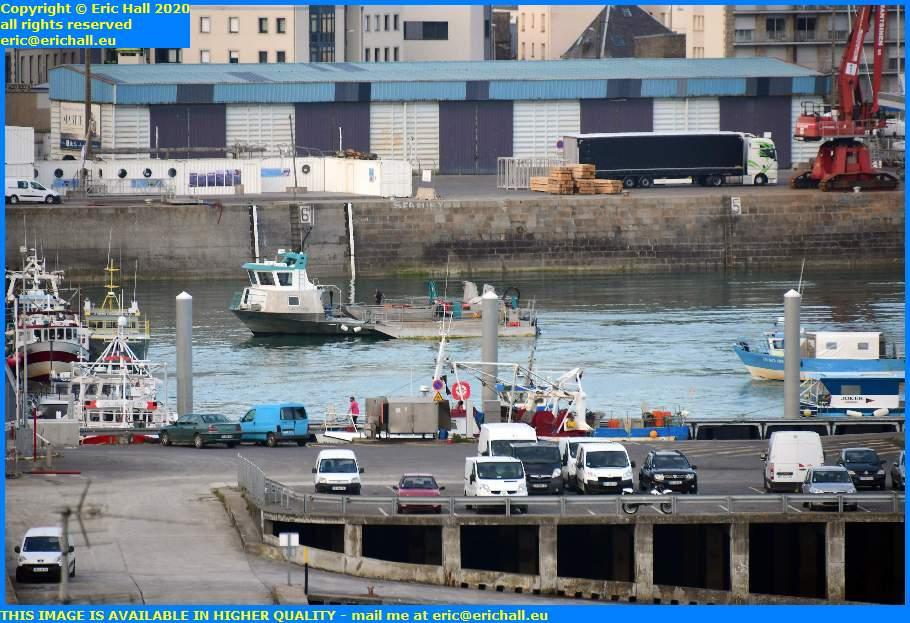 la grande ancre port de granville harbour manche normandy france eric hall
