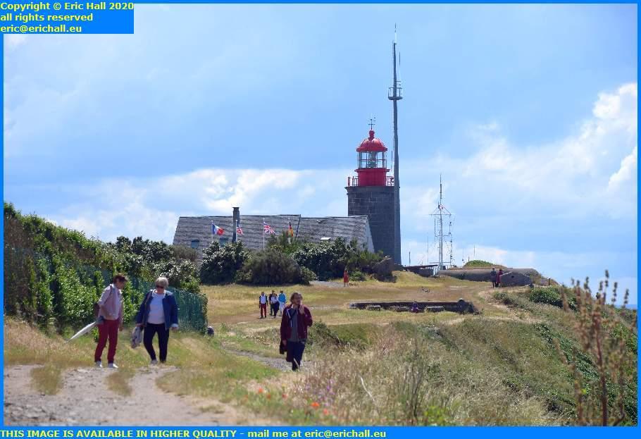 crowds lighthouse pointe du roc granville manche normandy france eric hall