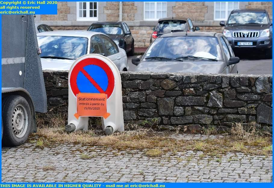 no parking place d'armes granville manche normandy france eric hall